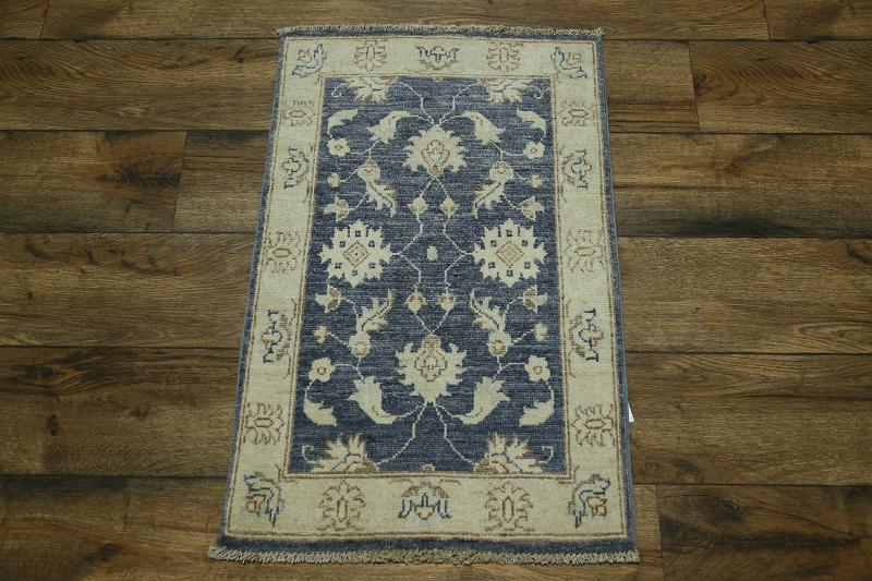 What Size Should Foyer Rug Be : Handmade foyer size blue oushak peshawar pakistan