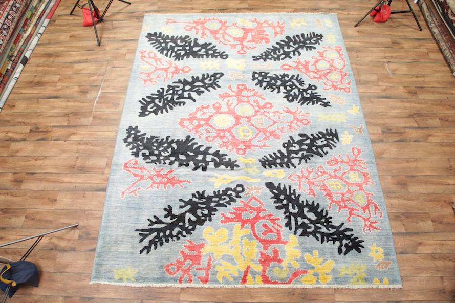 Art Craft Style 9x12 Kaitag Oushak Pakistan Oriental Area Rug 12