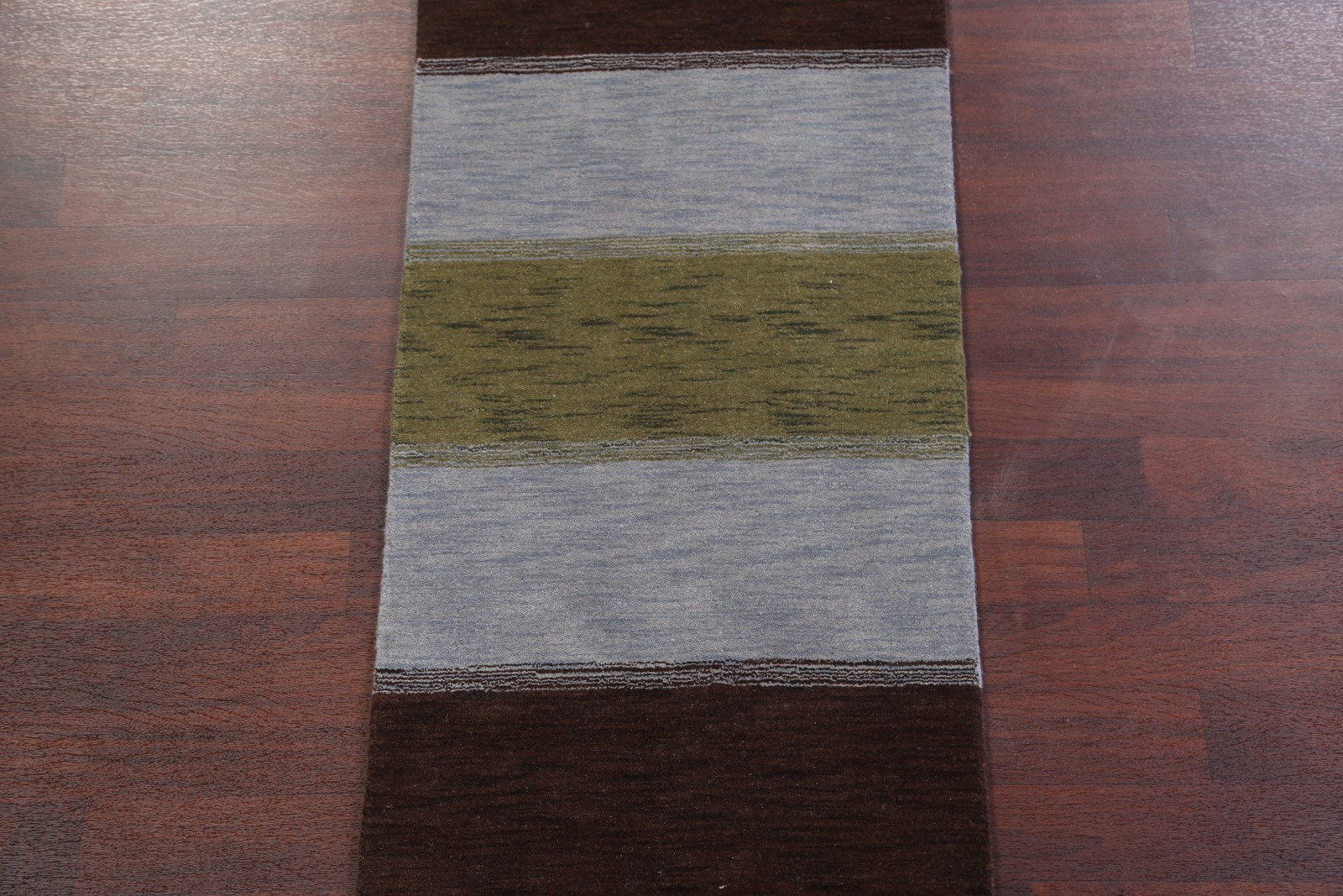 New Striped Design Modern Runner 3x10 Gabbeh Indian