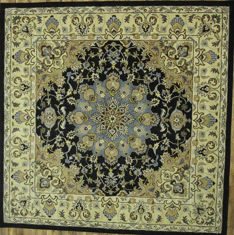 10x10 Square New Oushak Oriental Wool Area Rug