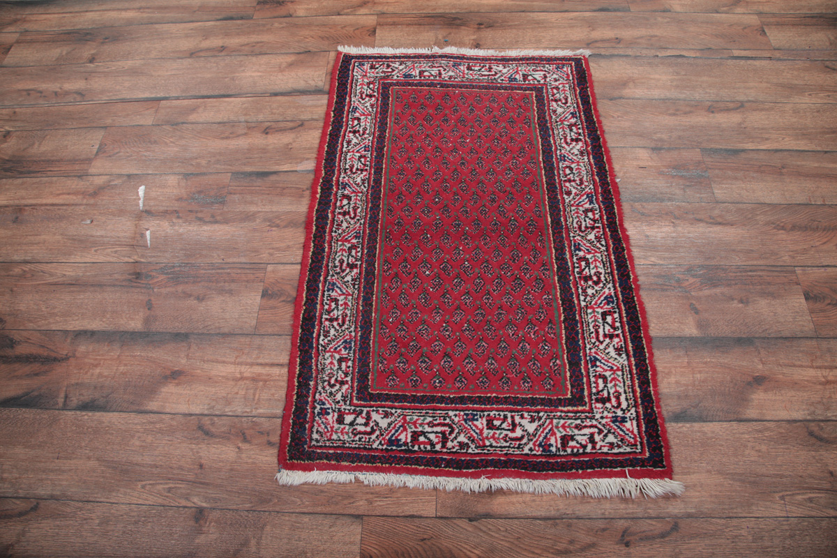 Red Foyer Rug : Foyer size red botemir persian oriental area rug wool