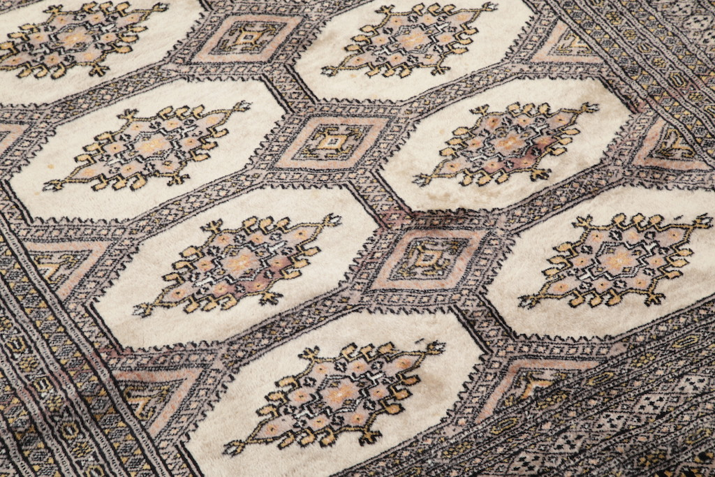 Foyer Rugs What Size : Geometric foyer size signed bokhara pakistan oriental
