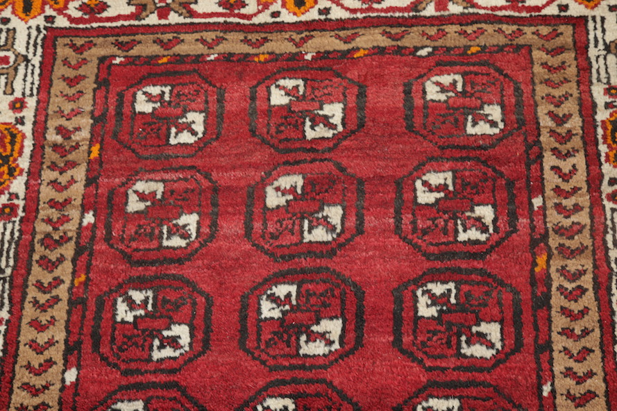 Red Foyer Rug : Geometric foyer size red balouch persian oriental area