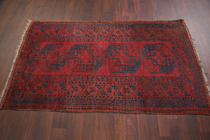 Red Foyer Rug : Geometric foyer size red balouch afghan oriental area