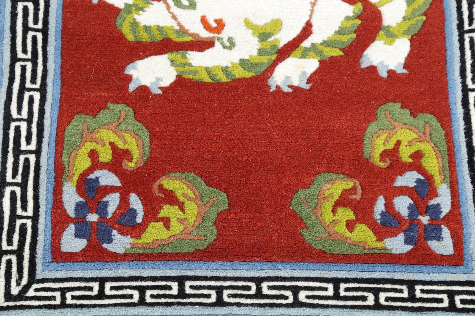 One Of A Kind Chinese Dragon Art Deco Oriental Hand
