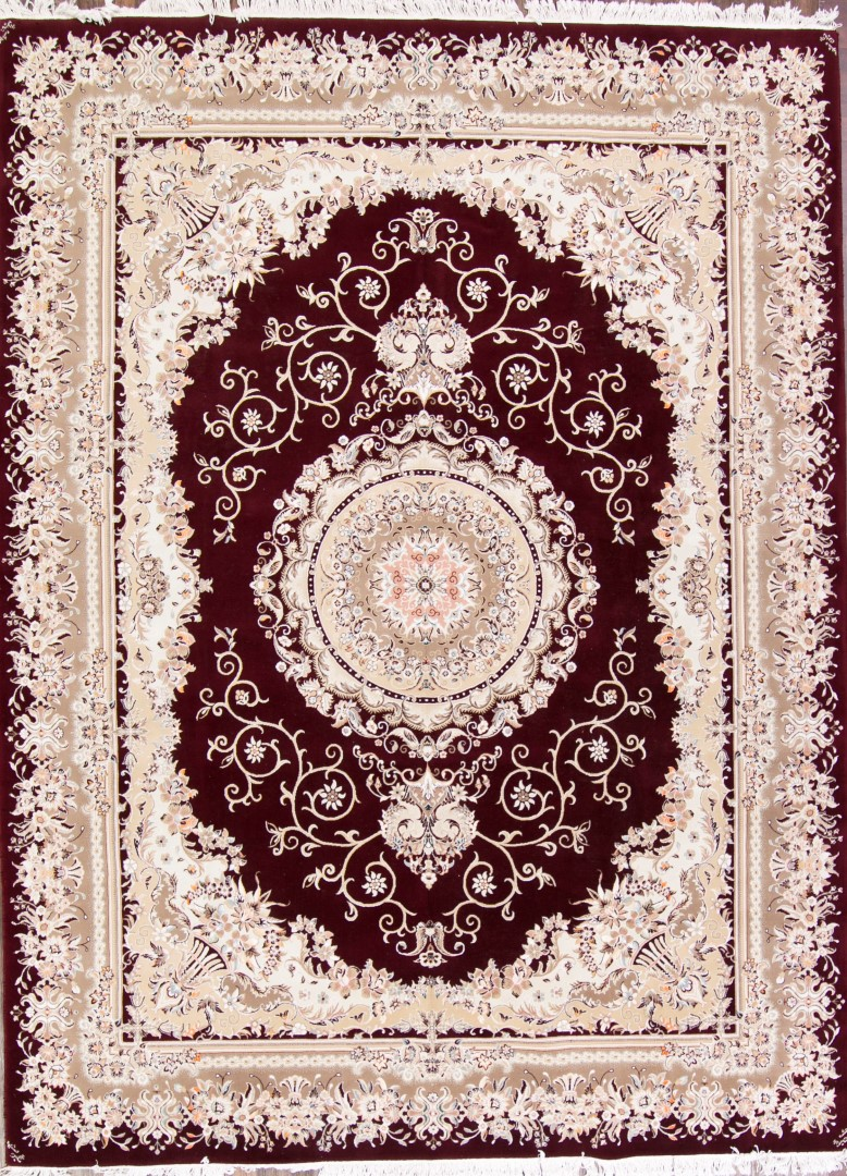 New Great Deal 10x13 Aubusson Pattern Tabriz Persian Area