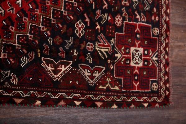Fall Sale Vintage Geometric Tribal Red 6x9 Shiiraz Persian
