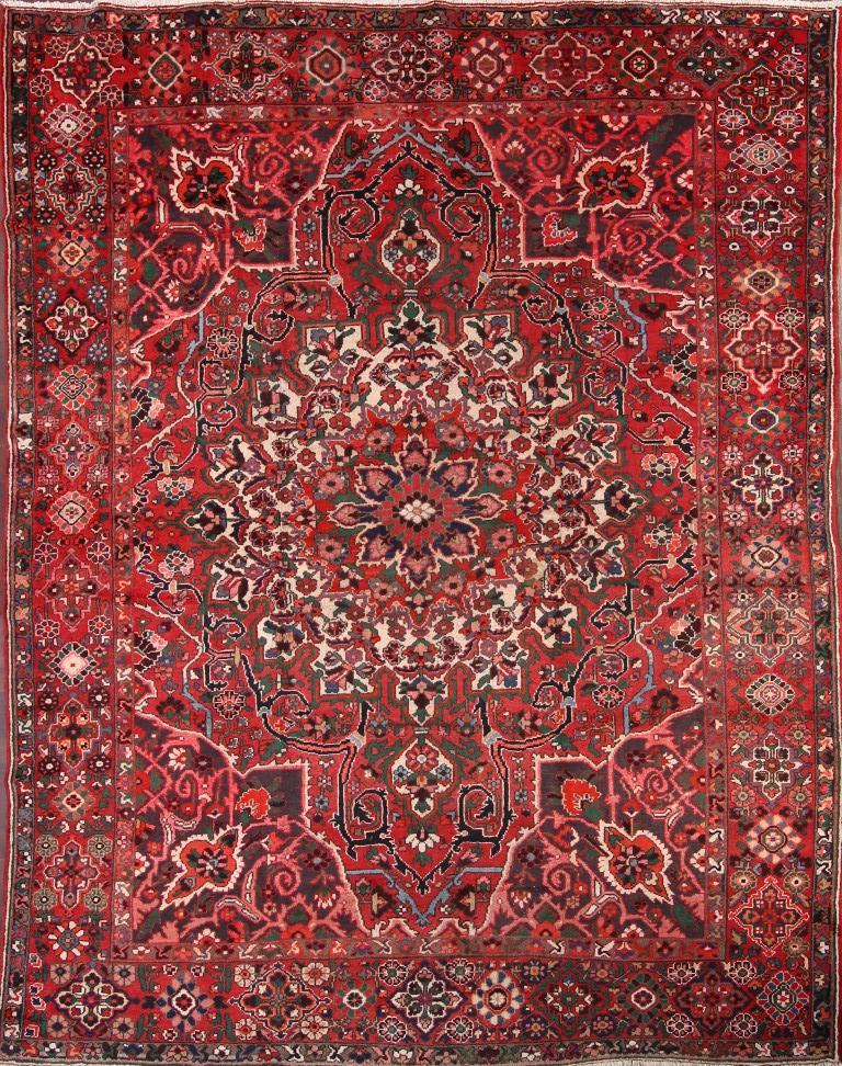Clearance Sale Geometric Antique 10x12 Bakhtiari Persian