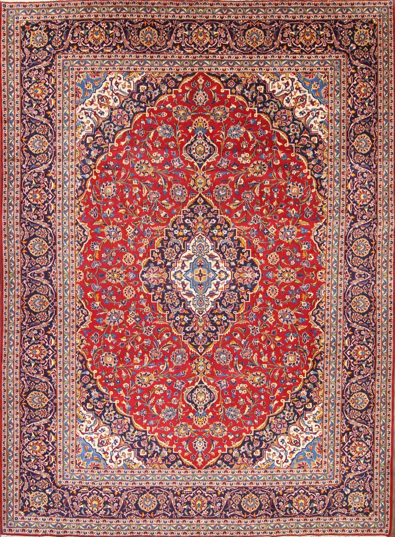 Excellent Traditional Floral LIVING ROOM Rug Hand-Knotted ...