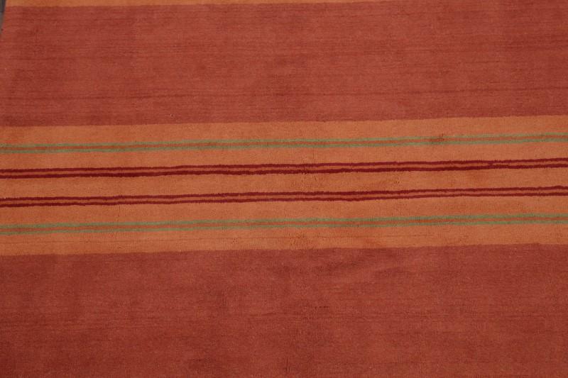 Hand Tufted Striped Design 6x8 Gabbeh Oriental Area Rug