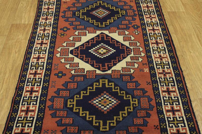 Foyer Rug Uk : Foyer size wool handmade ghouchan persian