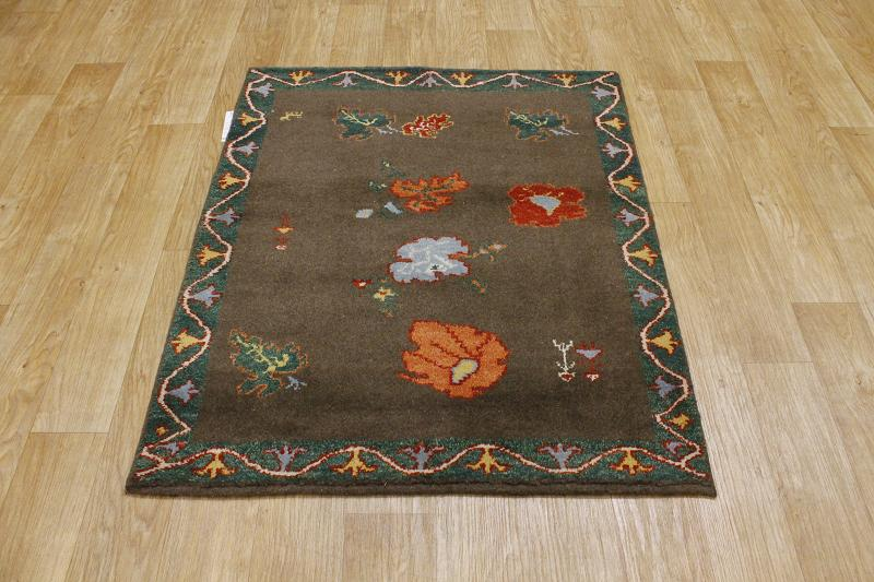 What Size Should Foyer Rug Be : Thick pile modern foyer size persian gabbeh area rug