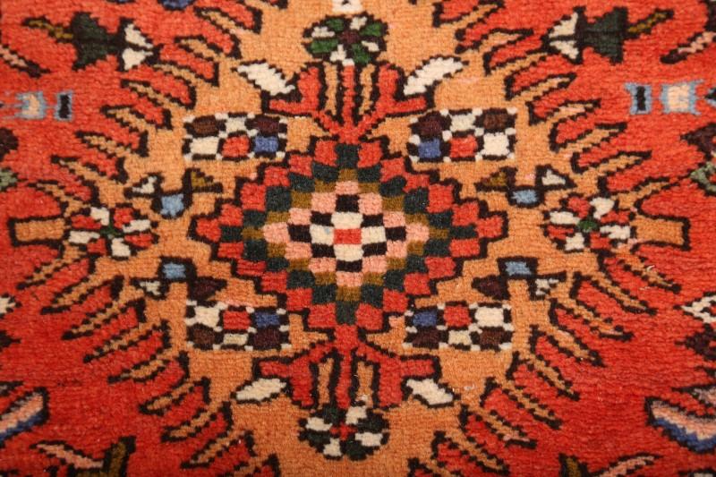 Palace Sized Geometric Runner 3x31 Gharajeh Persian