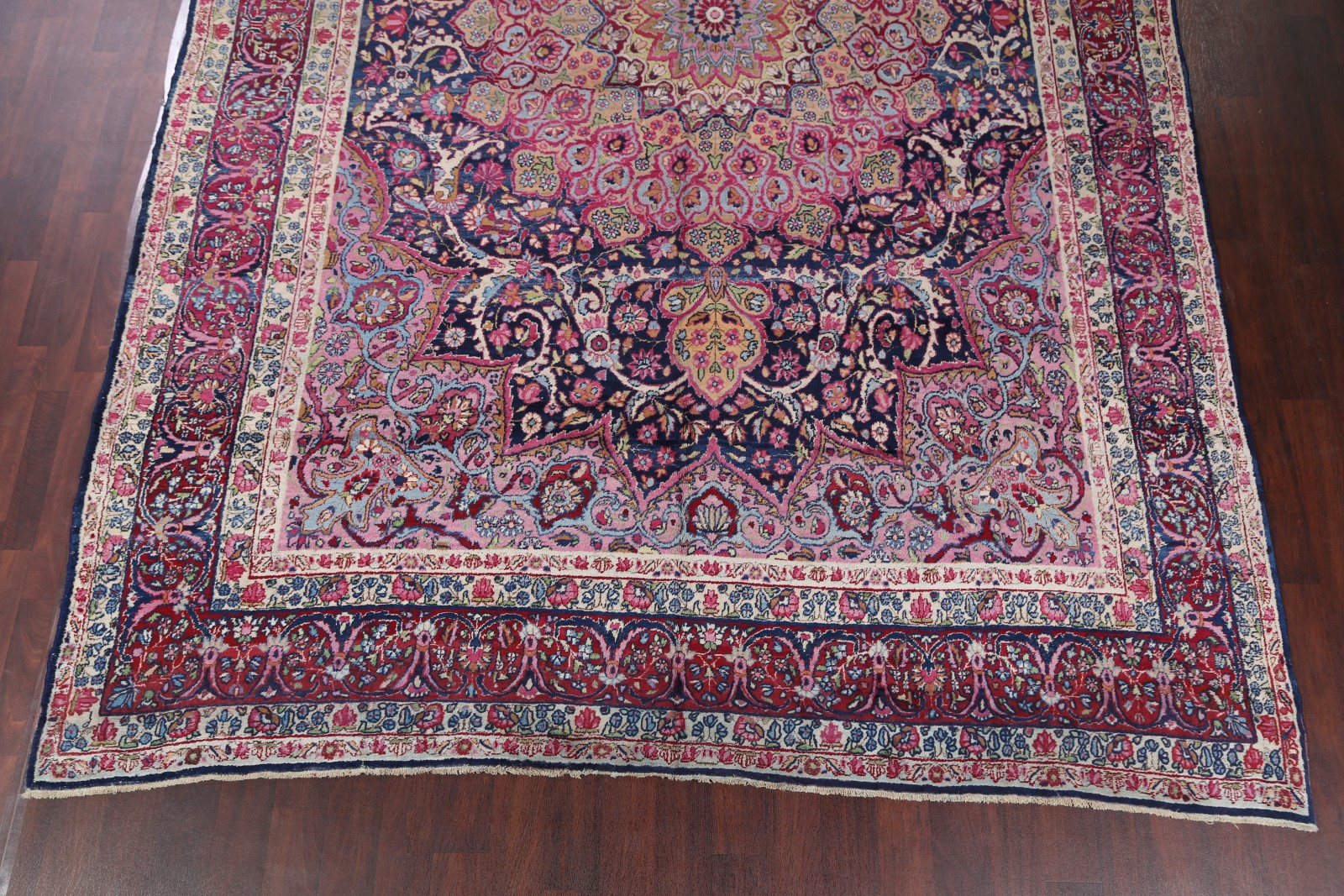 palace size antique geometric 10x15 kerman lavar ravar persian oriental area rug ebay. Black Bedroom Furniture Sets. Home Design Ideas