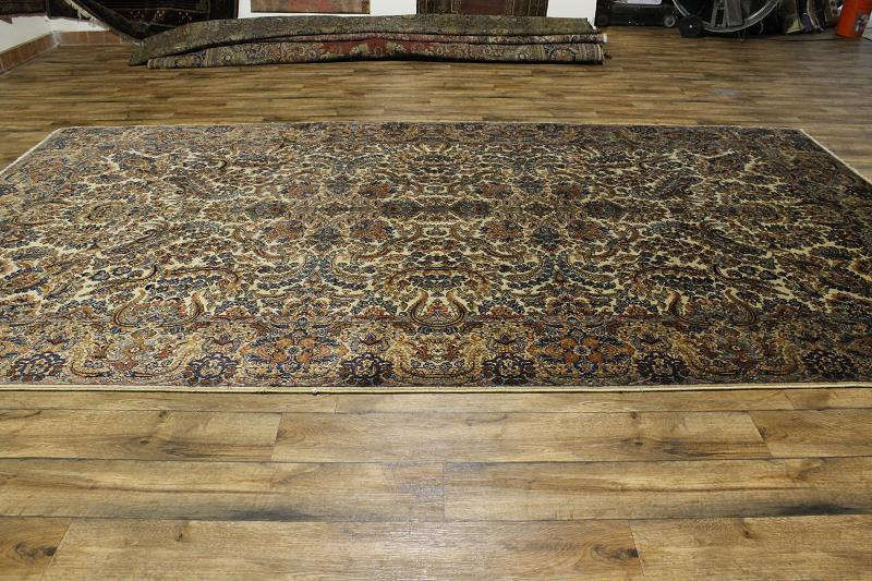 Oversized Floral Authentic 9x15 Karastan Persian Style