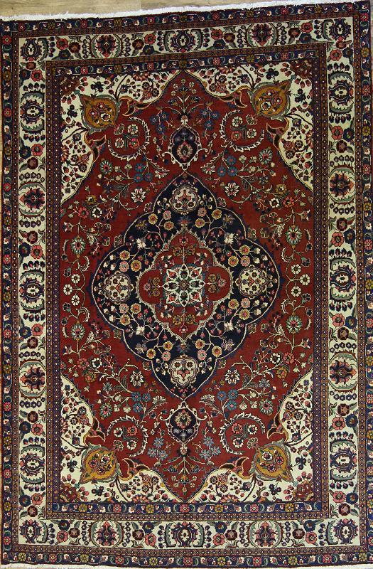Magnificent Geometric Red 8x12 Tabriz Persian Oriental Area Rug Wool Carpet : eBay
