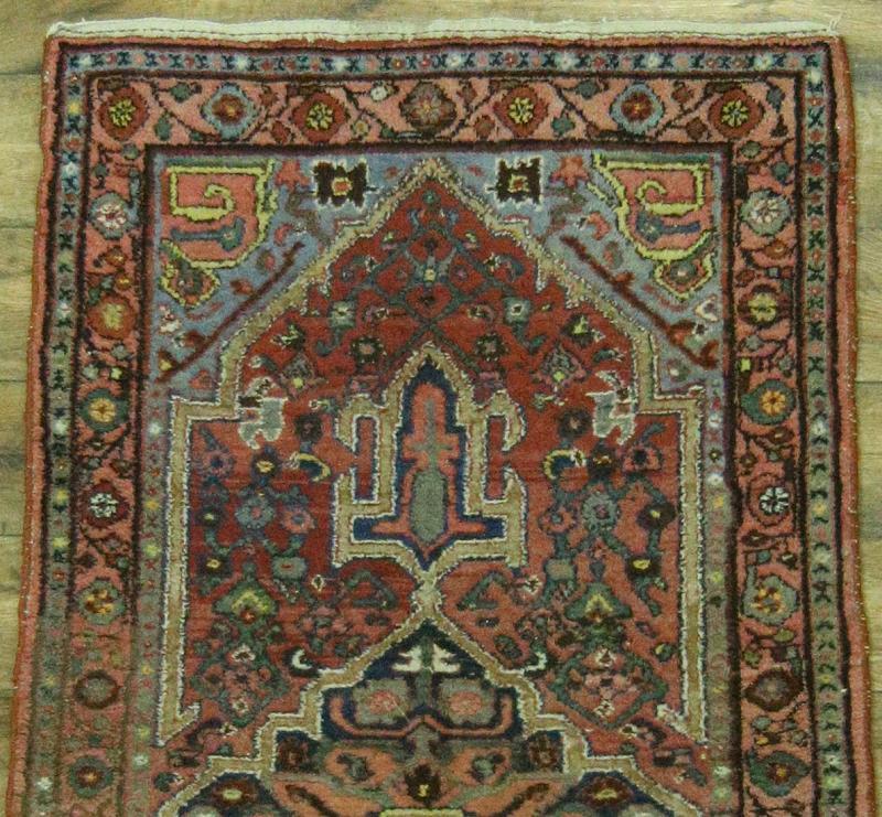 Foyer Rug Uk : Antique handmade foyer size hamedan persian oriental