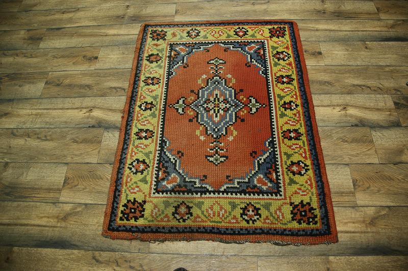 What Size Should Foyer Rug Be : Semi antique foyer size handmade oushak turkish