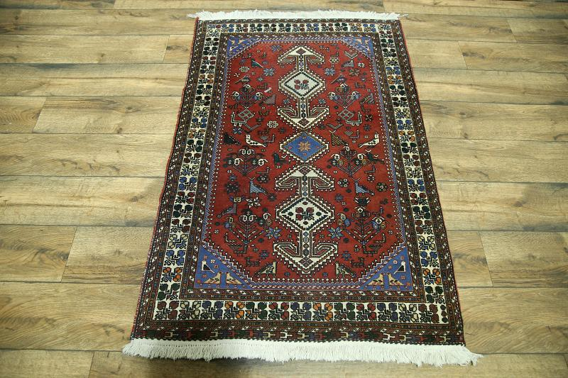 What Size Should Foyer Rug Be : Tribal foyer size red yalameh persian oriental area