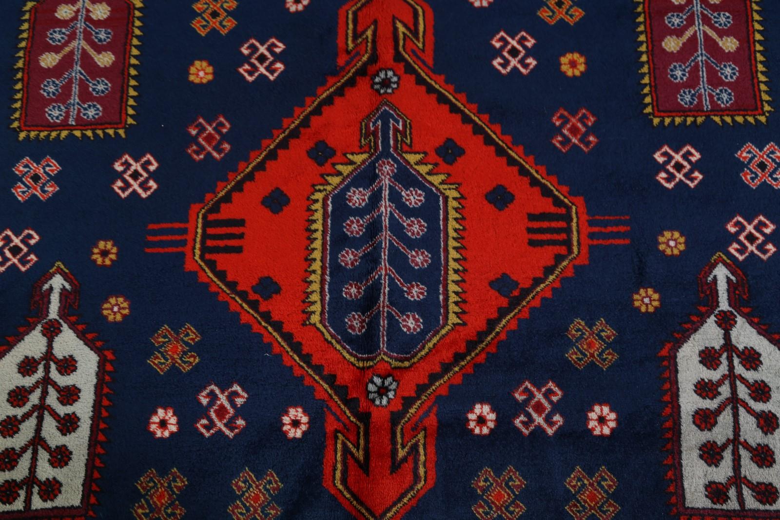 One Of A Kind Vintage Geometric Tribal Kazak Russian