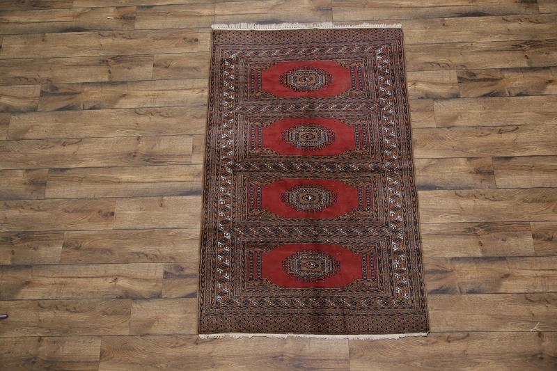 Foyer Rug Size : Geometric foyer size bokhara pakistan oriental area