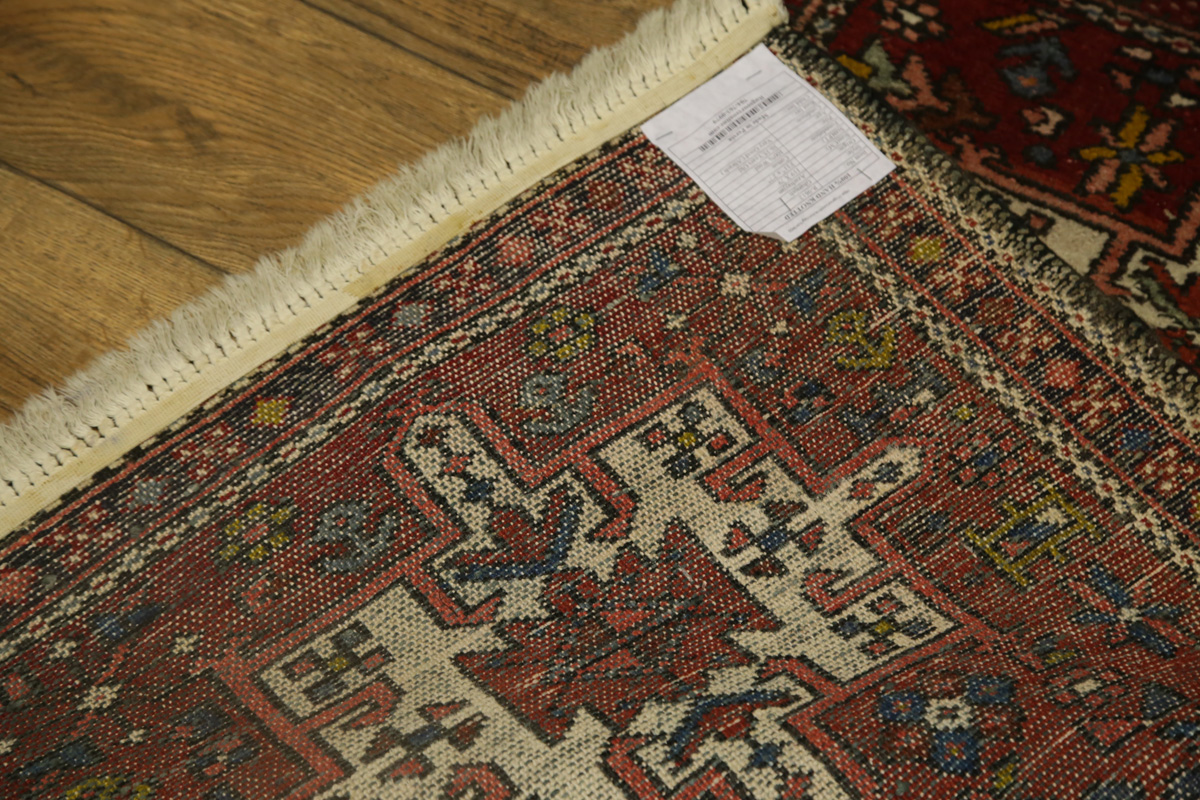 Red Foyer Rug : Foyer size tribal red gharajeh persian oriental area