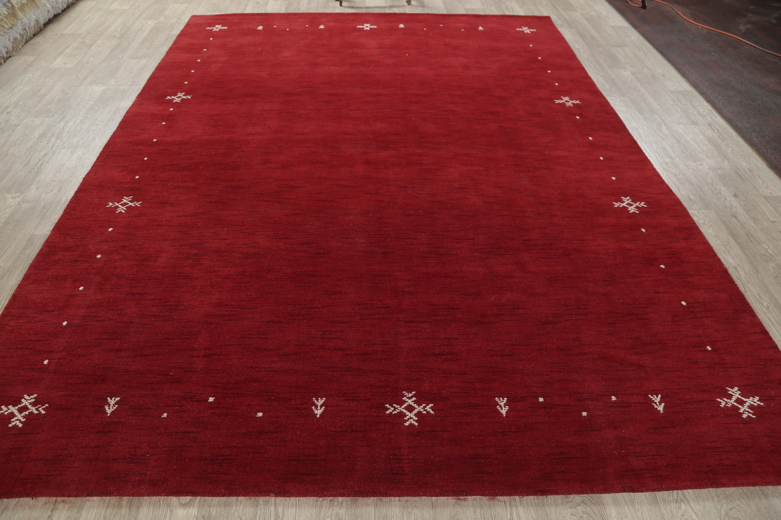 New 8x11 Hand Knotted Modern Oriental Area Rugs Red