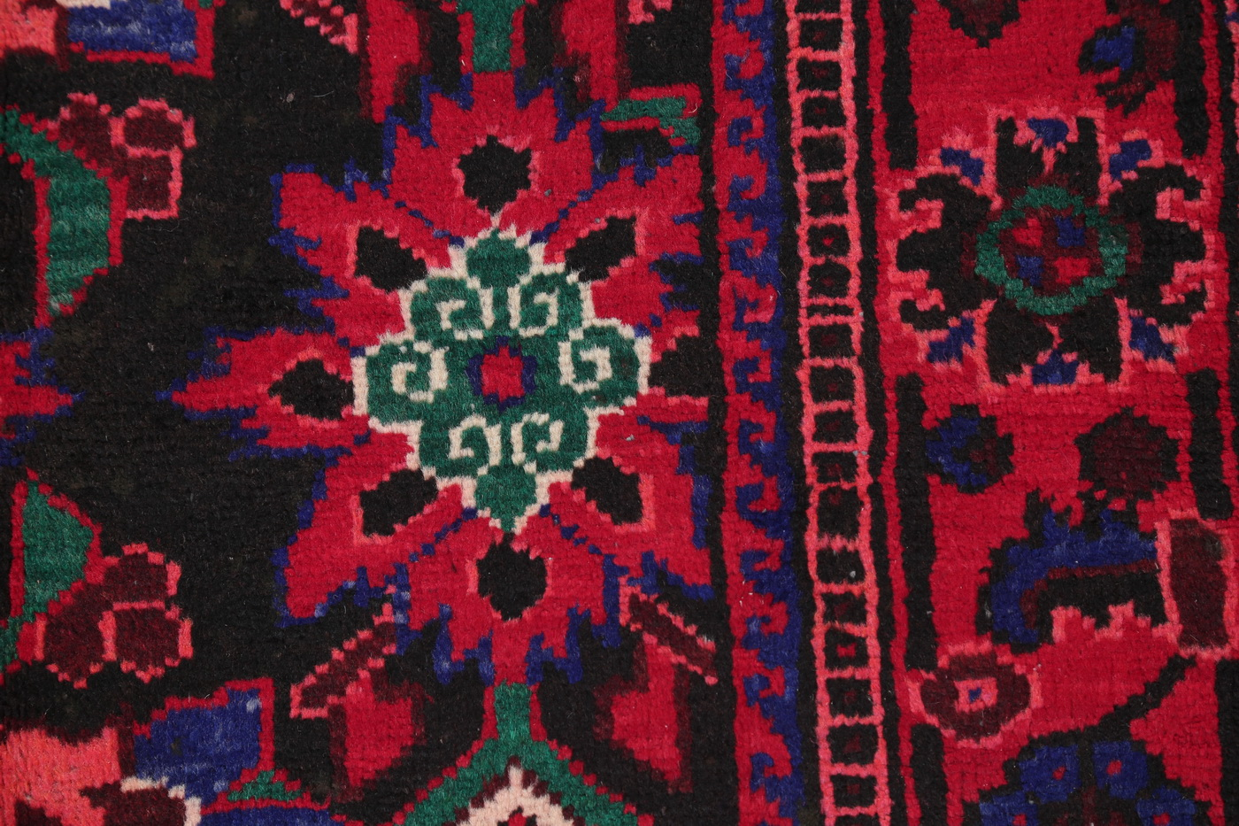 Vintage Floral Malayer Hamedan Persian Oriental Area Rug