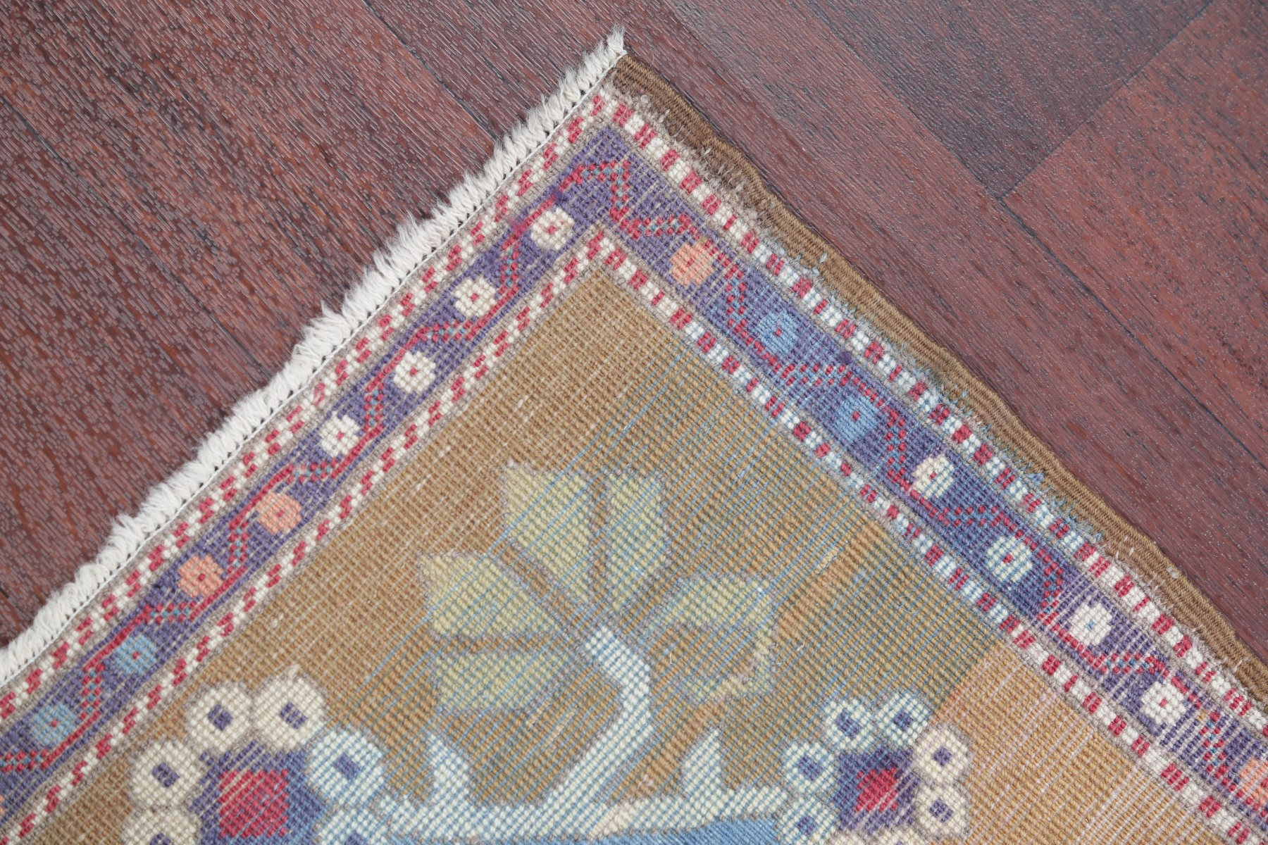 One Of A Kind Oushak Turkish Oriental Hand Knotted 2 X2