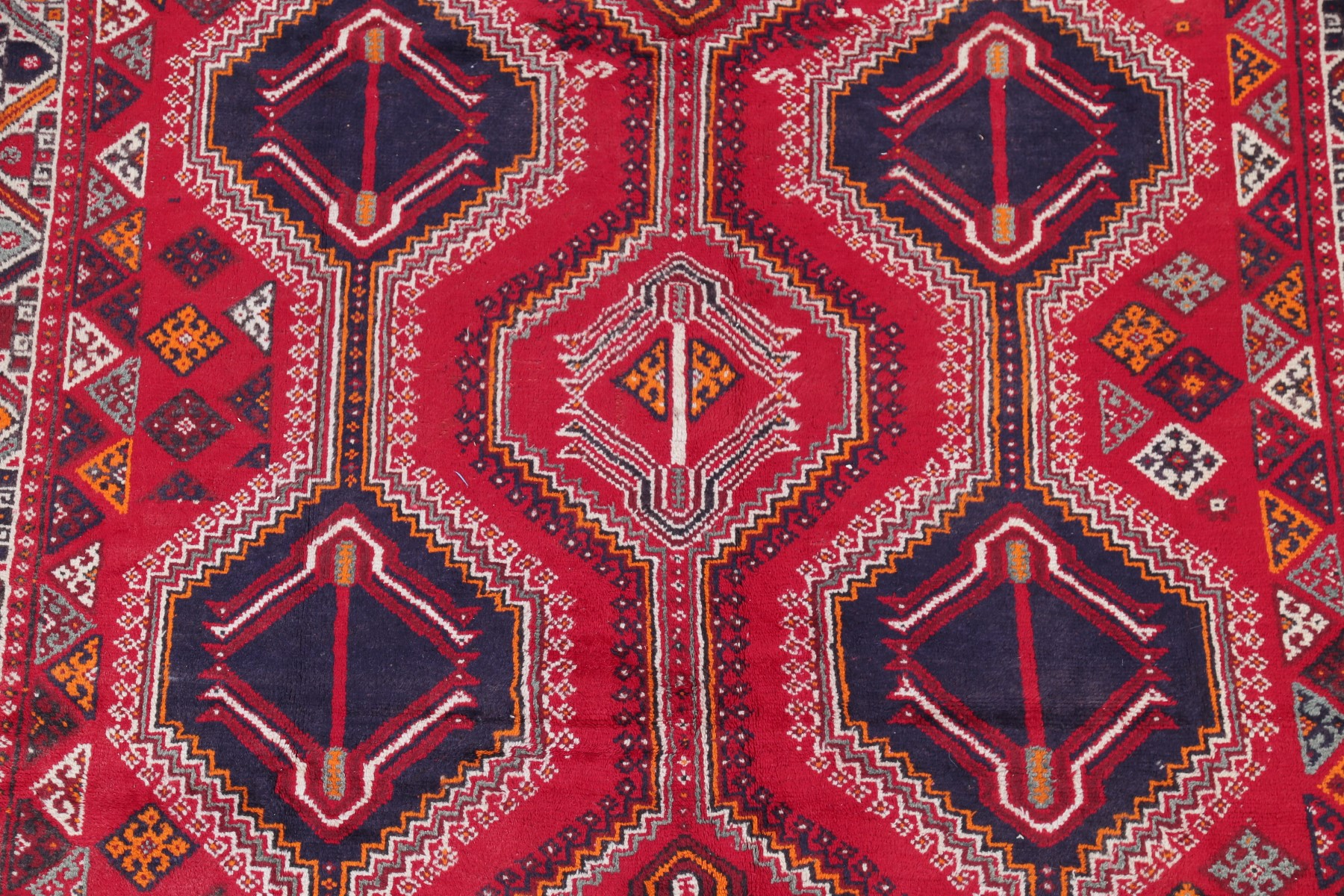 Antique Geometric Tribal Lori Qashqai Persian Oriental