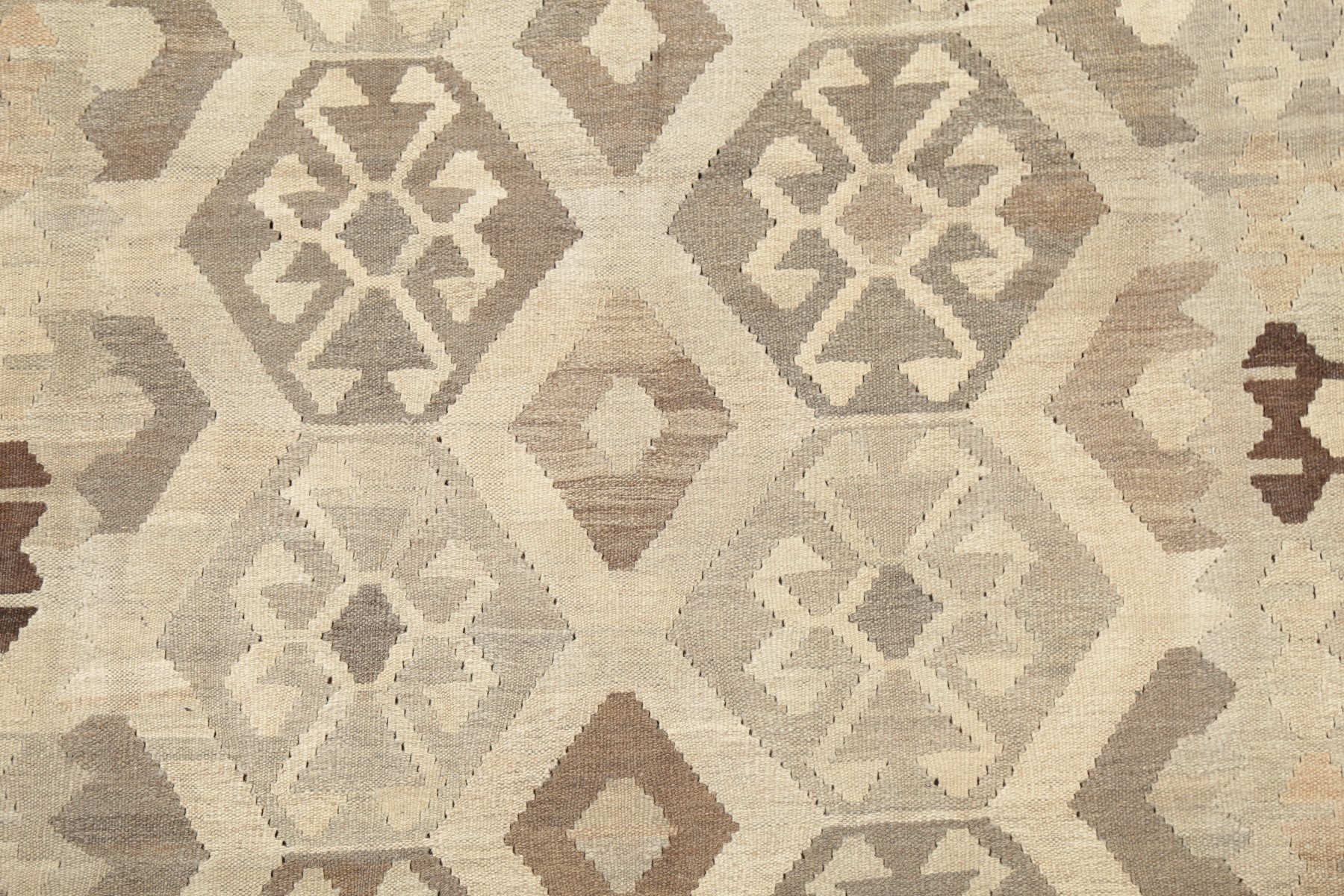 Details About Geometric Vintage Style Natural Earth Tone Kilim Turkish Area Rug Flat Pile 5x7