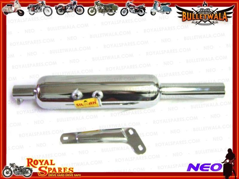 Enfield County Royal Enfield Chromeed 350/cc CC tubo di scarico