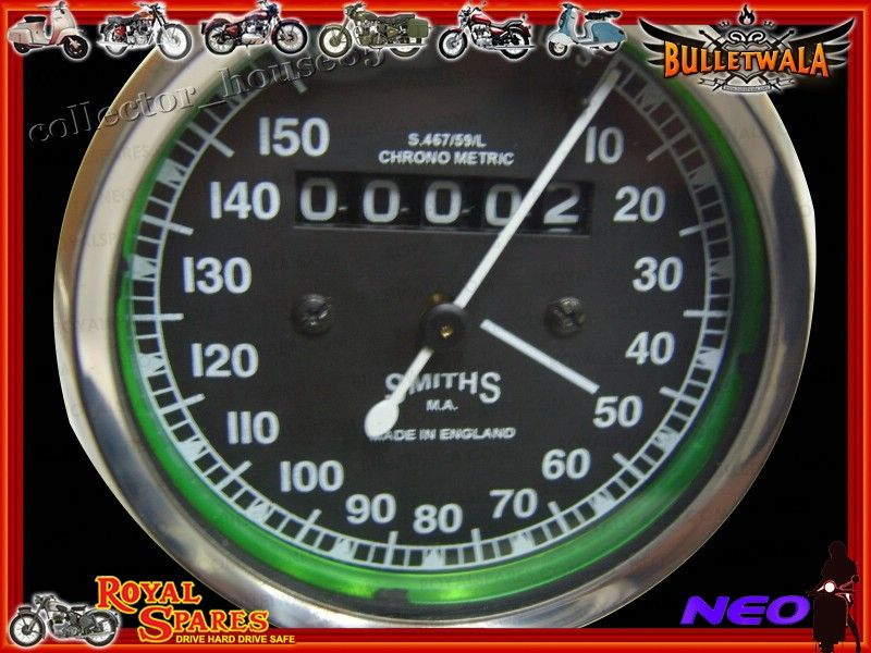 NEW CLASSIC SMITHS SPEEDOMETER REPO 0-150 M/HOUR NEW