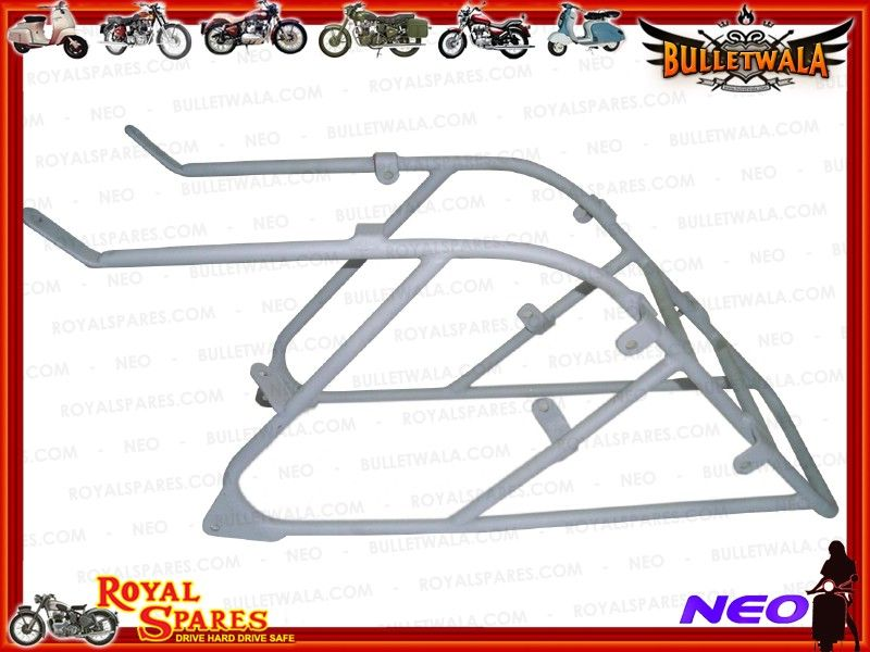 NEW TRIUMPH 3HW CUSTOMIZED REAR CARRIER READY TO PAINT, Cheapest