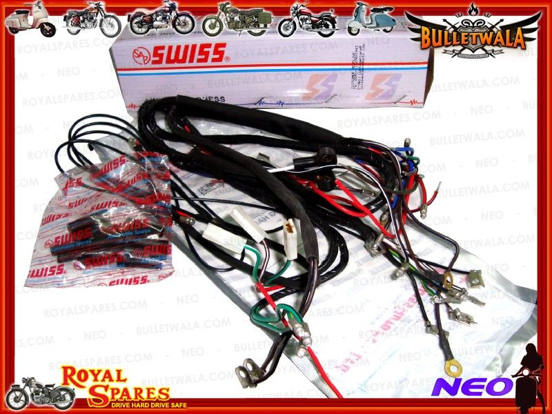 6v complete main wiring harness early royal enfield, cheapest prices6v complete main wiring harness early royal enfield