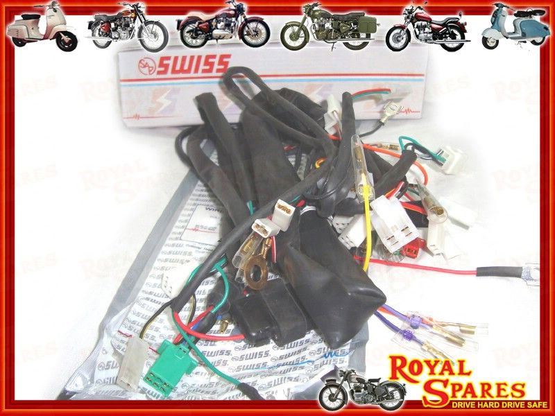 ELECTRA CDI MODELS COMPLETE WIRING HARNESS NEW 500970 Cheapest – Royal Enfield Wiring Harness