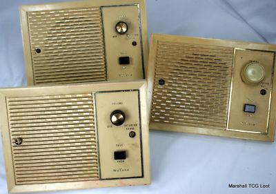 Radio1980 3 Vintage Nutone Speakers For Intercom System