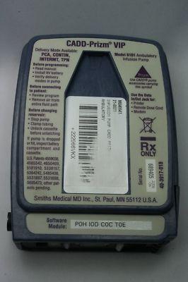 Radio1980 Cadd Prizm Vip Model 6101 Ambulatory Infusion Pump