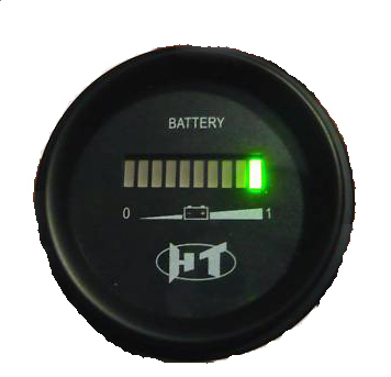 ev motor cycle parts 48v battery indicator meter gauge. Black Bedroom Furniture Sets. Home Design Ideas
