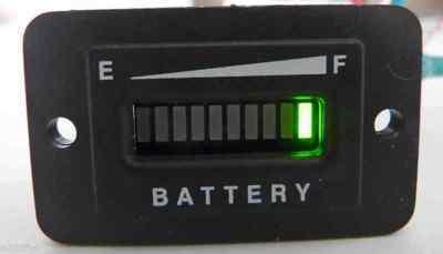 Club car battery meter wiring rules
