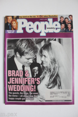 Jennifer aniston and brad pitt wedding vows