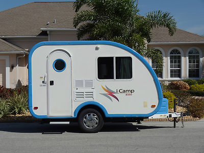 Elite Travel Trailer 15ft Small Easy Pull Behind Camping