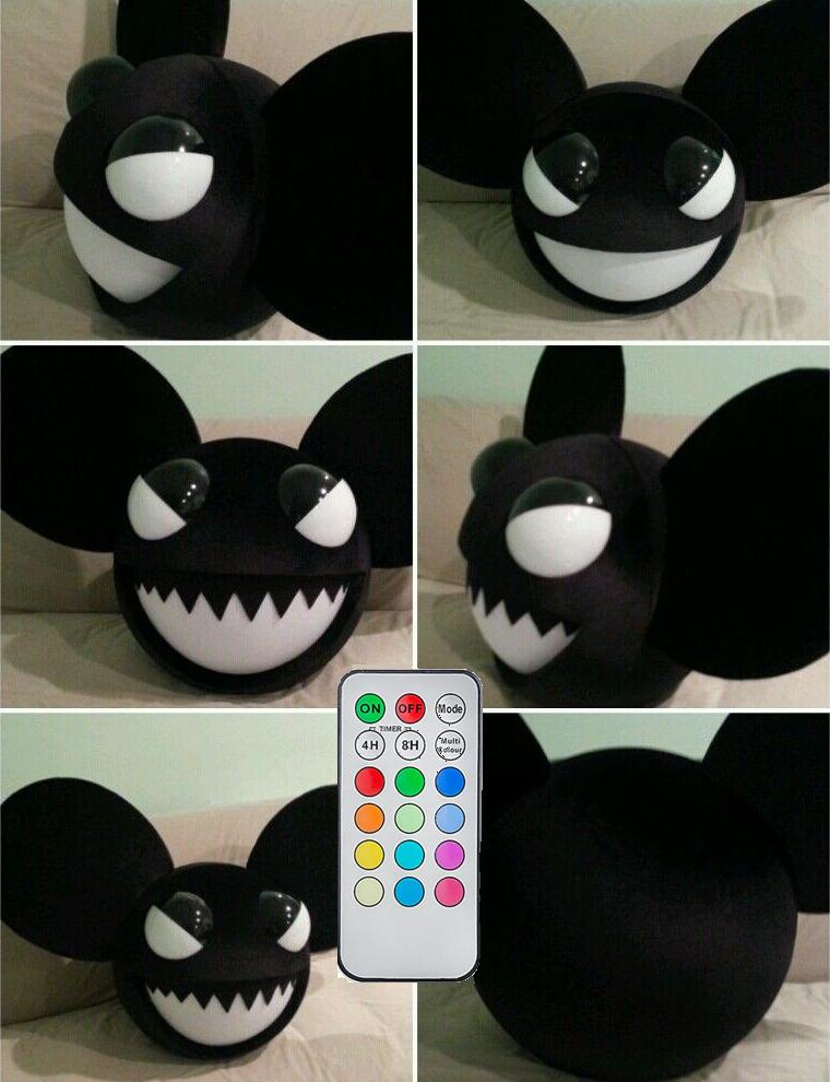 larger view - Deadmau5 Halloween Head