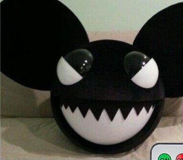 deadmau5 head costume for hallowen costum udaf