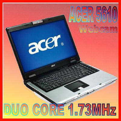 Drivers for Acer Aspire 5610 Webcam