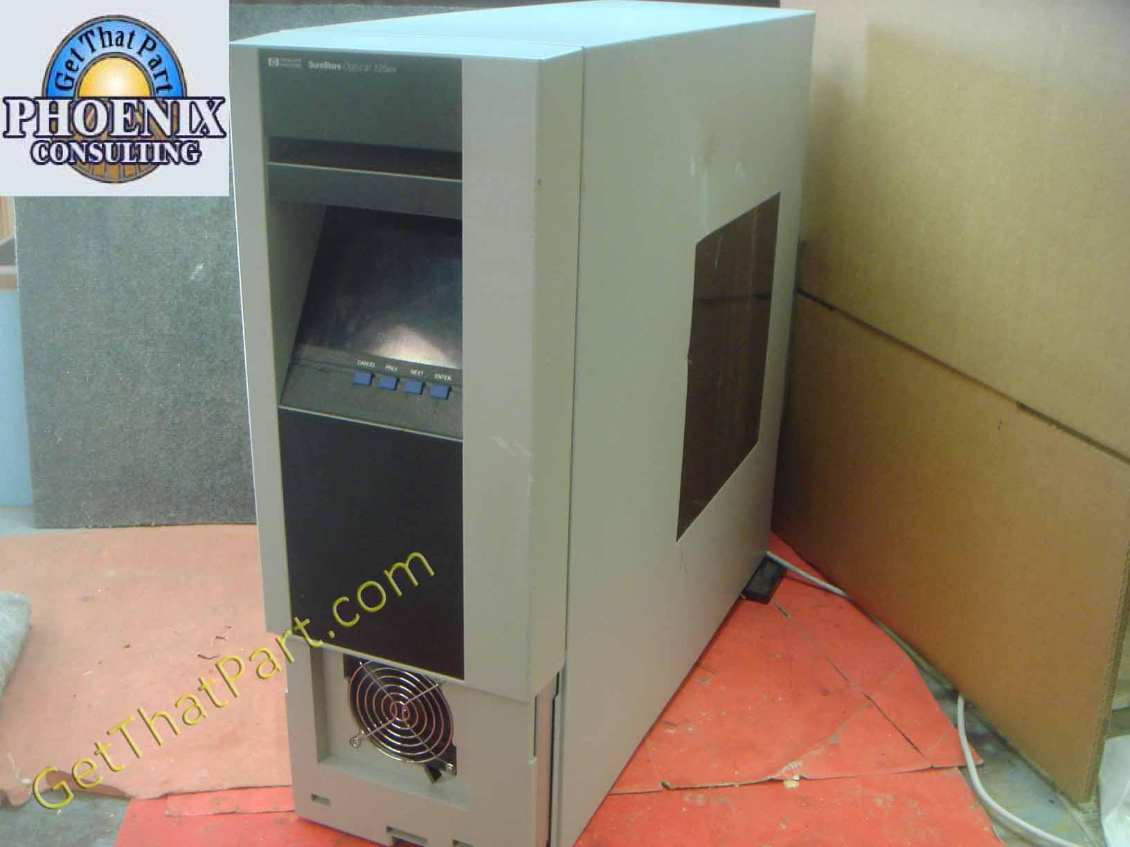 HP 125ex Surestore Optical Jukebox Media Library Drive C1119J