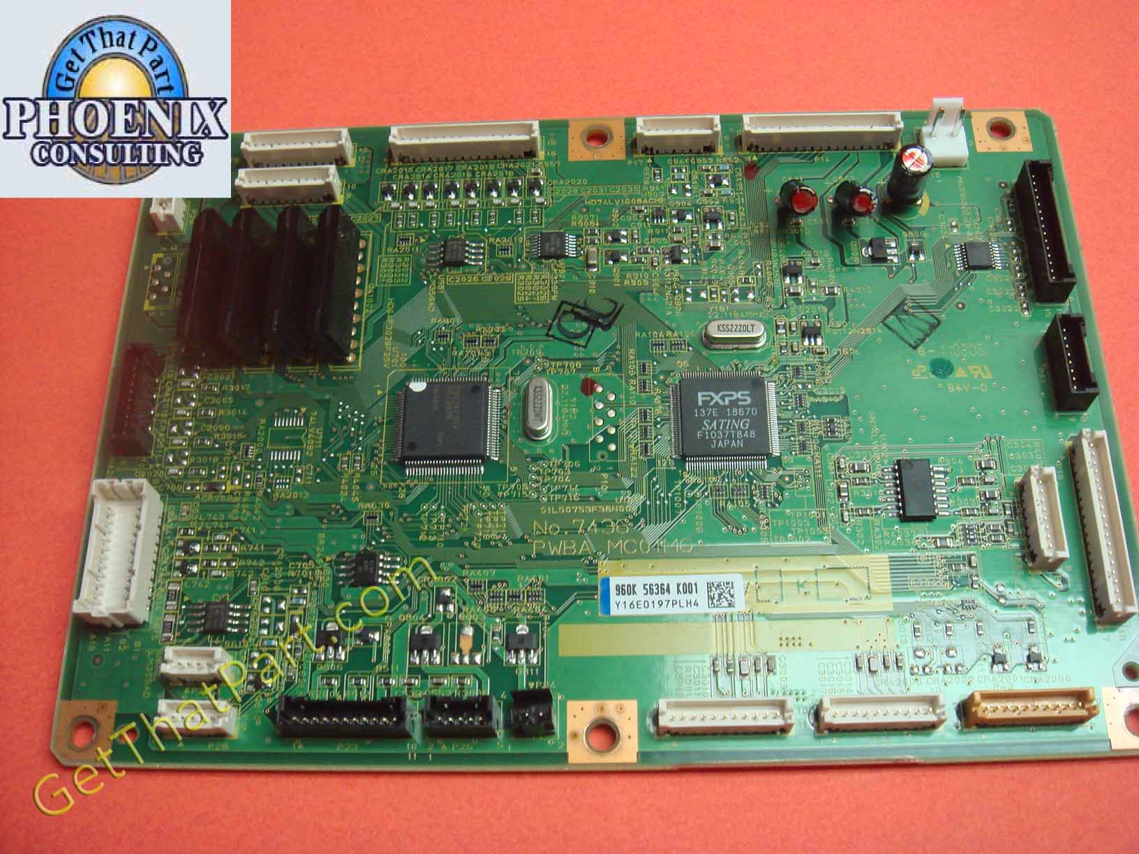 Xerox WorkCentre 6505 MFP MCU Engine Control Board Assembly