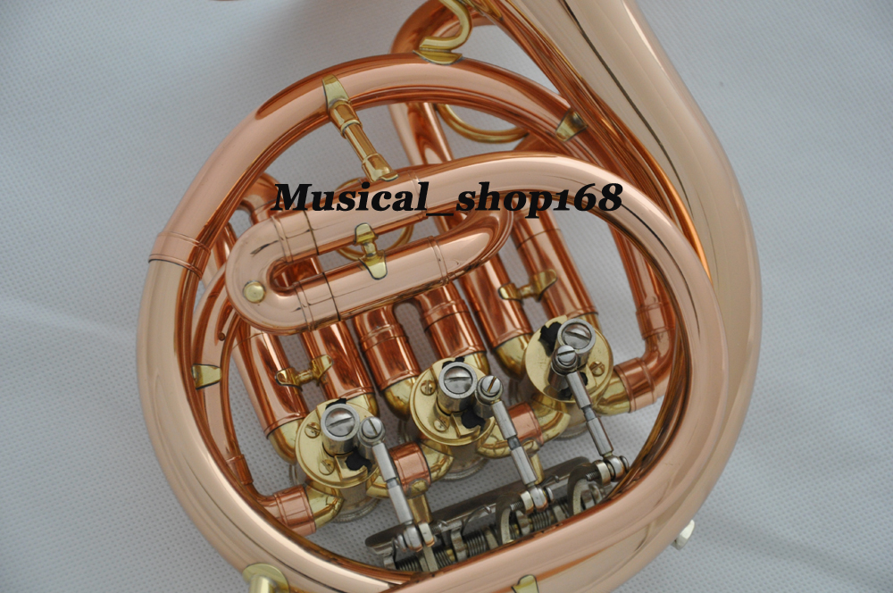 Piccolo French Horn Ebay Phosphorus rose brass mini french horn bb    Piccolo French Horn Ebay