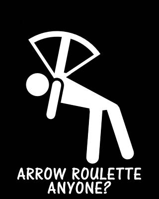 Bow and arrow roulette grown ups