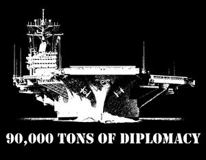 Sagear 90 000 Tons Of Diplomacy T Shirt Military Shirt